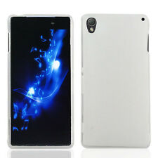 FOR Sony Xperia Z3 CLEAR WHITE TPU SKIN 1-PC PROTECTOR COVER CASE