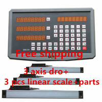 new 3 axis Digital Readout for lathe milling and linear scale 5um linear encoder