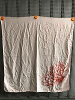 Fendi Coral Foulard FF Coral Seta Silk Carre 81x83cm