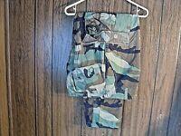 Army Combat Pants Hot Weather BDU Woodland Camo Medium Regular Paintball Hunting