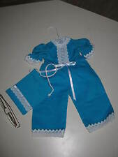 Dolls One piece Jump Suit Timmed In Lace With A Purse