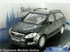 SKODA FABIA COMBI MODEL CAR 1:43 SCALE ABREX BLACK MAGIC D MK2 ESTATE FACELIFT K