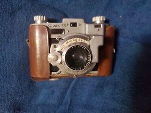 Kodak 35 Rangefinder 35mm Film Camera Anastar f:3.5/50 Flash Shutter