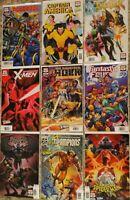 Lot of 9 Marvel Comics Uncanny X-Men Variants Ross Crain Immortal Hulk ASM MORE!