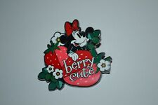 2021 Disney Minnie Mouse Berry Cute Character Food Mystery Pin