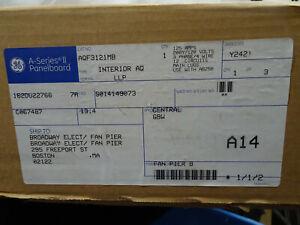 GE A Series II panelboard Cat. No. AQF3121MB Interior AQ LLP