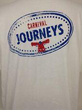 Carnival Cruise Journeys Delta XL Promo T-shirt My Lucky BINGO Shirt!