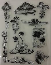 Art Nouveau Clear Stamp Sheet [No.1]