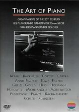 The Art of Piano: Great Pianists of the 20th Century (Dvd, 1999)