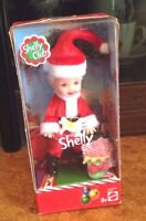 MATTEL SHELLY CLUB SANTA CLAUS BABBO NATALE NATALIZIE CHRISTMAS TIME doll Barbie