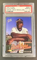 1997 Fleer Ultra Gold Medallion David Ortiz #G518 RC PSA 10