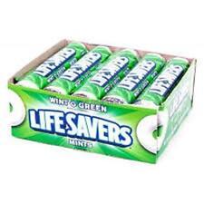 LifeSavers Rolls Wint-O-Green 20 Roll Box  (3 Boxes)