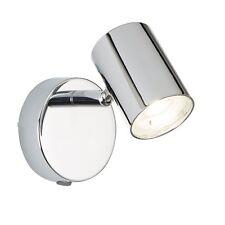 Searchlight 3171CC Rollo 1 Light Cylinder Head Spot Wall Bracket Chrome