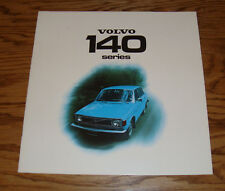 Original 1974 Volvo 140 Series Deluxe Sales Brochure 74 142 144 145