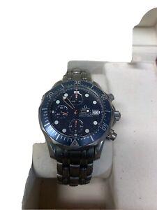 Omega Seamaster 300M Chrono Diver Ref. 2298.80.00 Titanium Watch