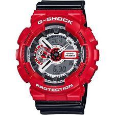 Casio G-Shock Mens Wrist Watch GA110RD-4A GA110RD-4ACR Red Analog-Digital