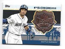 2017 Topps Series 1 All Star Team Medallion #MLBAS-RC Robinson Cano Mariners