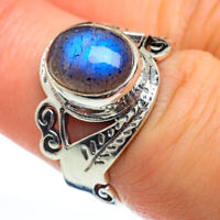 Labradorite 925 Sterling Silver Ring Size 7 Ana Co Jewelry R46892F