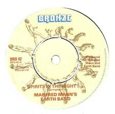 """Manfred Mann's Earth Band - Spirits In The Night - 7"""" Vinyl Record Single"""