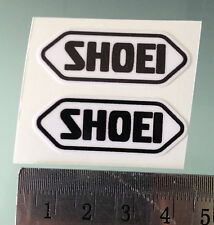 VISOR Stickers / Decals For SHOEI Helmets (PAIR) (4CM x 1,5CM)