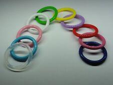 Adapter ♥ 3x Silikonringe BPA-frei für Schnuller Schnullerketten Baby ♥