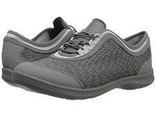 CLARKS CLOUDSTEPPERS Ladies 'DOWLING PEARL' Sneakers-DARK GREY  Sz. 10 M NIB