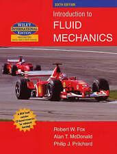 Introduction to Fluid Mechanics Robert Fox Hardcover Engineering Free Shipping