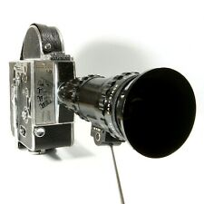 Paillard Bolex H16 M 16mm Movie Camera With 25-100mm Reflex Zoom Lens