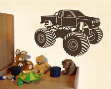 Wandtattoo Monstertruck Wandaufkleber XXL Kinderzimmer  25 Farben 7 Größen