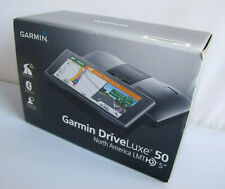 "Garmin DriveLuxe 50LMTHD 5"" GPS with Built-In Bluetooth & Voice Activated"