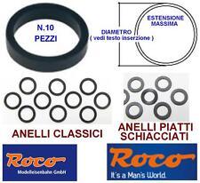ROCO 40074 SET N.10 ANELLI TRAZIONE e ADERENZA MM.9,5 da mm.10,3 a 12,4 SCALA-N
