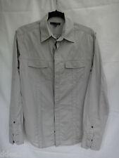 SABA Mens' Grey Shirt Size S