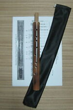 Natural Bamboo Sax in key C - ( use alto saxophone mouthpiece )