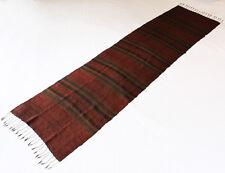 Silk Textile Runner  Laos 100% Silk Loom Woven Tapestry Asian Home Decor Laos