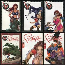 Fatale Comic Set 1-2-3-4-5-6 Lot Broadway Comics 1996 Jim Shooter JG Jones art
