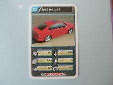 69-AUTOSALON CARS C2 SAAB 9-3 2.0 T  QUARTETT CARD
