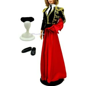 Barbie Matador Costume Dolls of The World Spanish New