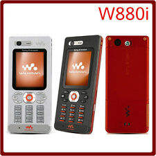 SONY ERICSSON WALKMAN W880i SILVER 2.0MP VIDEO 3G UNLOCKED CELLULER MOBILE PHONE