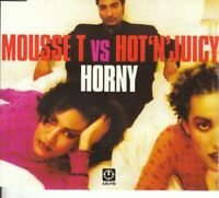 Horny, Mousse T Vs Hot 'N' Juicy, Audio CD, Good, FREE & FAST Delivery