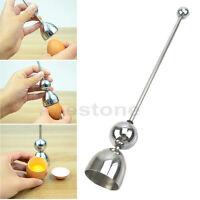 Egg Topper Shell Opener Cutter Boiled Raw Egg Open Stainless Steel Kitchen Tool