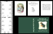 1:12 Scale Miniature Book Beatrix Potter The Tale Of Johnny Townmouse