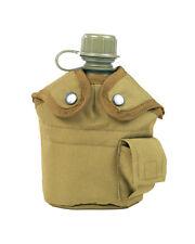 US Feldflasche Kunststoff mit Becher und hülle Coyote Mil-Tec