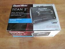Channel Master CM-7778 TITAN 2 Antenna Preamplifier - UHF VHF FM 7778 Preamp