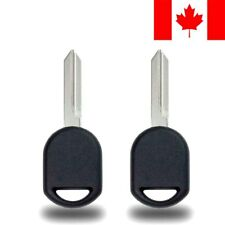 2x New Transponder Ignition Car Key for Ford Lincoln Mercury 80 Bit Chip H92 H84