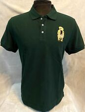 Polo Ralph Lauren Men Custom Fit Green- Purple Tag -  Free shipping