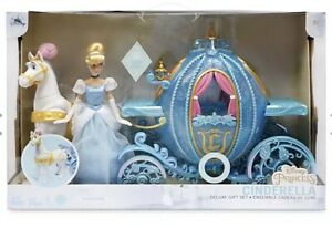 Disney Store Christmas 2020 Limited Edition Cinderella Doll + Carriage New Boxed