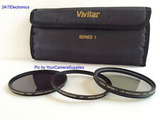 VIVITAR Filter Kit 67mm ND8 UV CPL To Sony R1 Alpha E-Mount FE 24-70mm f/4.0