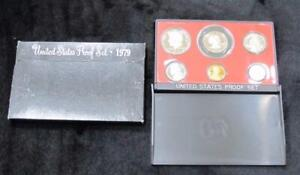 1979 Proof Set * 6 Coins * Includes Susan B Dollar and Kennedy Half