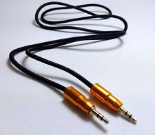 1.5M - 3.5mm Jack Plug To Plug Male Cable-Audio Lead For Headphone/Aux/MP3/iPod