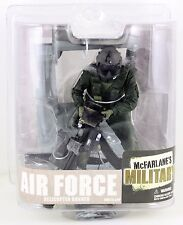 Mcfarlanes Military Air Force Helicopter Gunner Action Fig.w/M134 Mini Gun NEW!